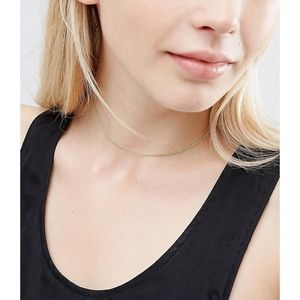[ASOS] Set of Two Fine Choker Necklaces